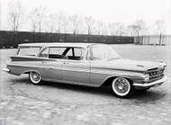 1959 Chevrolet Nomad Concept Poster