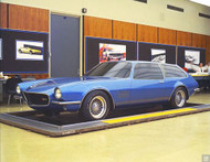 1970 Camaro Concept Poster