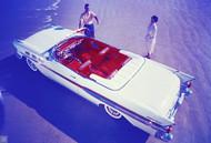 1957 Pontiac Bonneville Show Car Poster