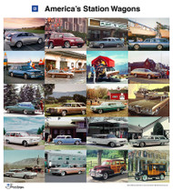America's Station Wagons GM Heritage Collection Poster