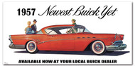 Buick Vintage 1957 Metal Sign