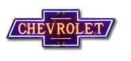 Chevrolet Dealer Neon Sign