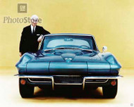 1966 Chevrolet Corvette Coupe Poster