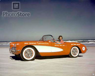 1956 Chevrolet Corvette Convertible Poster