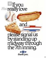 1976 Chevrolet Advertisement Poster