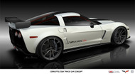 2011 Chevrolet Corvette Z06X Poster