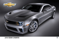 2010 Chevrolet Camaro at SEMA Poster