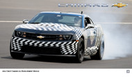2011 Chevrolet Camaro ZL1 Development Vehicle Poster