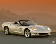 2006 Chevrolet Corvette Convertible Poster