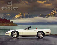 1993 Chevrolet Corvette Convertible Poster