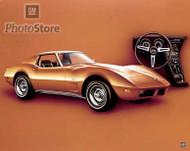 1974 Chevrolet Corvette Stingray Coupe Poster