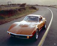 1971 Chevrolet Corvette Stingray Coupe Poster
