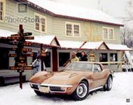 1970 Chevrolet Corvette Stingray Coupe Poster