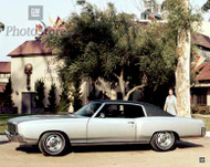 1971 Chevrolet Monte Carlo Coupe Poster