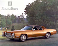 1970 Cadillac Fleetwood Eldorado Coupe Poster