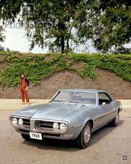 1968 Pontiac Firebird 350 H.O. Coupe Poster