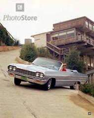 1964 Chevrolet Impala SS Convertible Poster