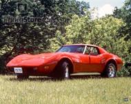 1976 Chevrolet Corvette Stingray T-Top Coupe Poster