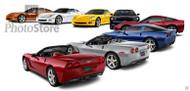 2005 Chevrolet Corvette Art Print Poster