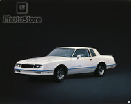 1983 Chevrolet Monte Carlo SS Coupe Poster