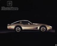 1982 Chevrolet Corvette Collectors Edition Coupe Poster
