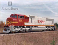 1990s EMD Diesel Electric Locomotive Poster