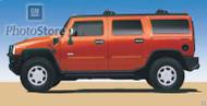 2003 Hummer H2 Poster