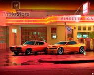 1999 Pontiac GTO Concept and 1969 Judge Poster