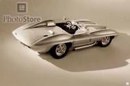 1958 Chevrolet Corvette Sting Ray Racer III Poster