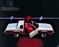 1985 Chevrolet Monte Carlo Sport Coupe Poster