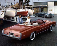 1976 Cadillac Fleetwood Eldorado Poster