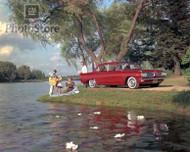 1961 Pontiac Tempest 4-Door Sedan Poster