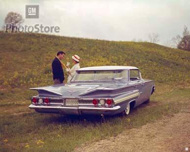 1960 Chevrolet Impala 4 Door Sport Sedan Poster Gmphotostore