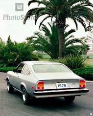 1976 Chevrolet Vega GT Hatchback Coupe Poster
