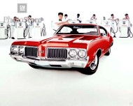 1970 Oldsmobile Holiday Coupe Poster