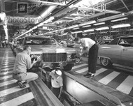 1970 Cadillac Models on Assembly Line Poster