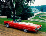 1966 Cadillac DeVille Convertible Poster
