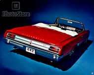 1965 Oldsmobile F-85 Cutlass 442 Poster