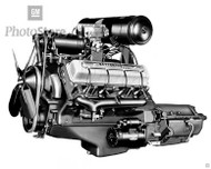 1949 Oldsmobile Rocket V8 Engine
