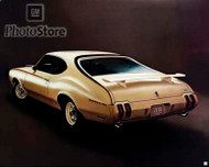 1970 Oldsmobile 350 Holiday Coupe Poster