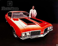 1970 Oldsmobile 442 Coupe Poster