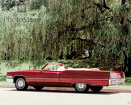 1970 Cadillac DeVille Convertible Poster