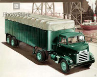 1954 GMC Cab Over Engine Tractor Poster