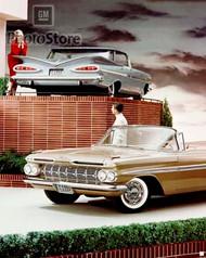 1959 Chevrolet Impala Models Poster