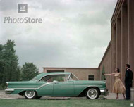 1957 Oldsmobile 98 Holiday Sedan Poster