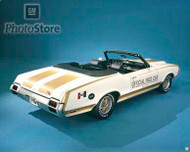 1972 Oldsmobile Cutlass Supreme Pace Car Poster