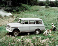 1959 Chevy Suburban Carryall 4X4  Poster
