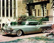 1958 Buick Roadmaster Riviera Coupe Poster