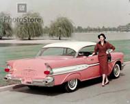 1957 Pontiac Super Chief Catalina Coupe Poster