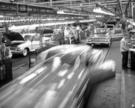 1961 Chevrolet Impala on Assembly Line Poster